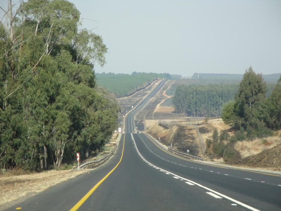 Rückweg in Richtung Johannesburg