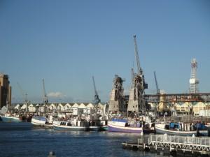 Hafen bei der V&A Waterfront