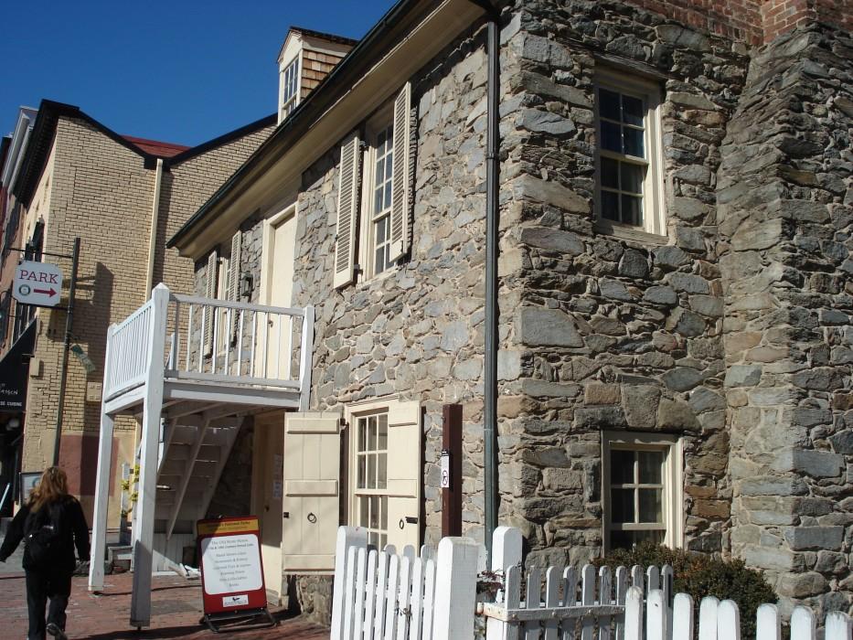 ältestest Haus in Georgetown an der M street