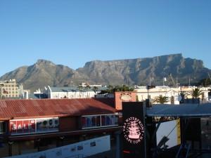 Sicht in Richtung Tafelberg