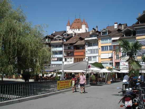 Mühleplatz und Schloss Thun