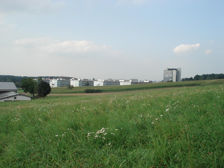 Sicht auf ETH Hönggerberg