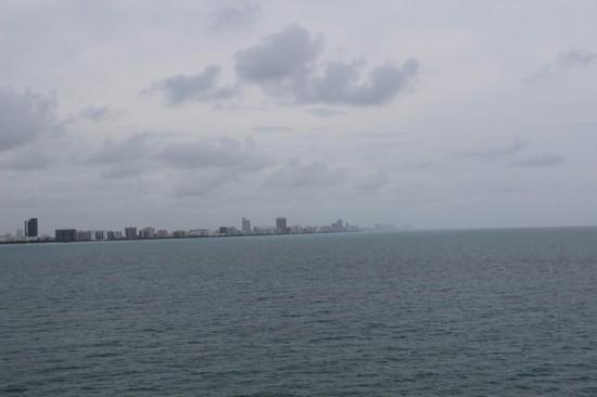 Abfahrt von Miami für die Karibik Kreuzfahrt