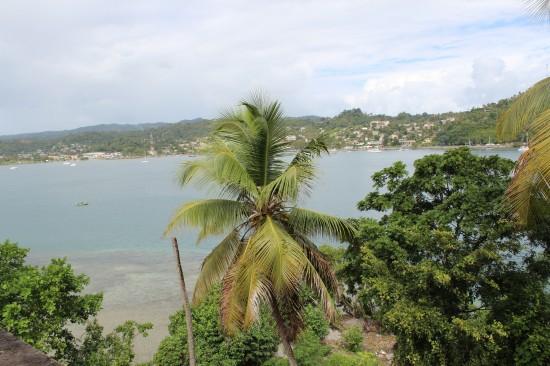 Sicht in die Bucht von Samana
