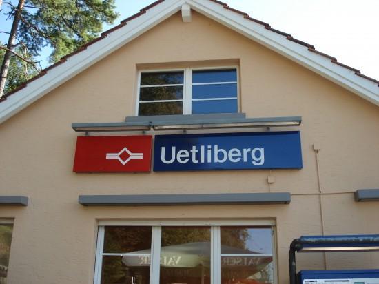 Bahnstation Uetliberg