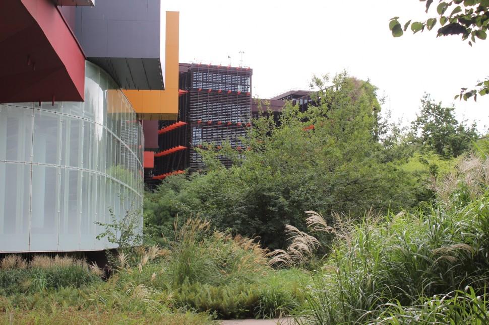 Musée du Quai Branly Fassade
