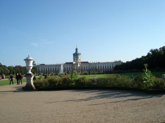 Barockgarten, erschafft durch Simeon Godeau im 17. Jahrhundert