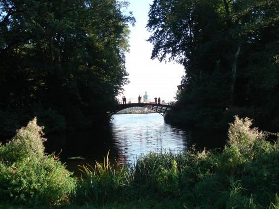 hübscher kleiner See