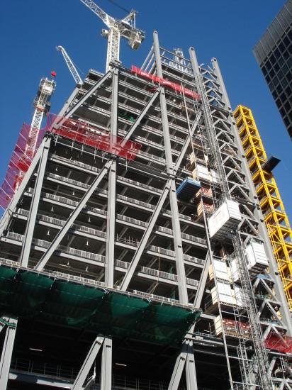 Dieser zukünftig 288 m hohe Bau wurde vom Architekturbüro Kohn Pedersen Fox
