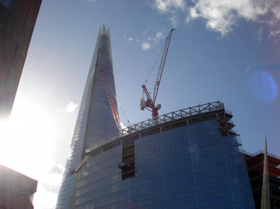 the Shard von Renzo Piano