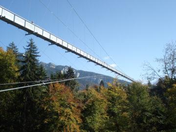 Panoramabrücke Sigriswil - Hängebrücke Wanderung