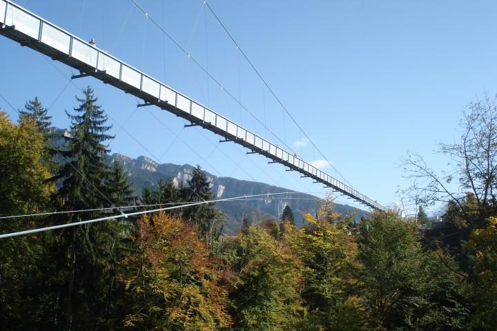 Panoramabrücke Sigriswil – Hängebrücke Wanderung