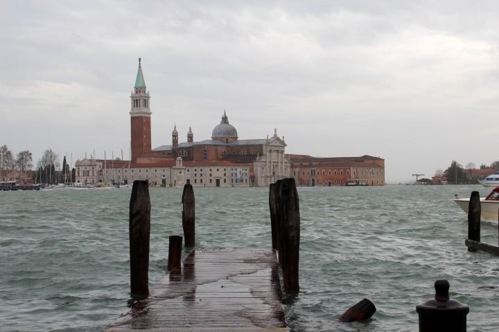 Acqua alta in Venedig
