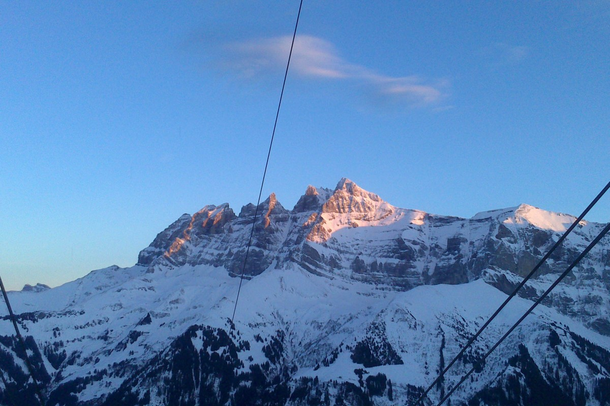 End of the year trip to Champéry