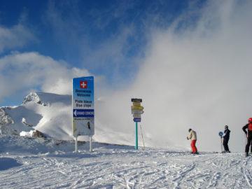 Schneespass zwischen der Schweiz und Frankreich
