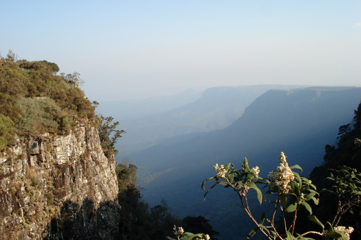 God's Window – Panoramic view of the Lowveld
