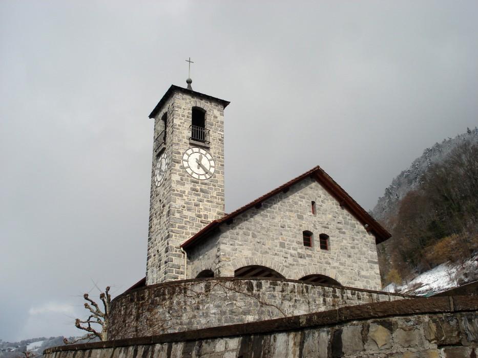 Kirche Merligen