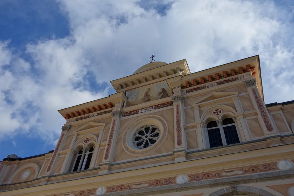 Madonna del Sasso Detail
