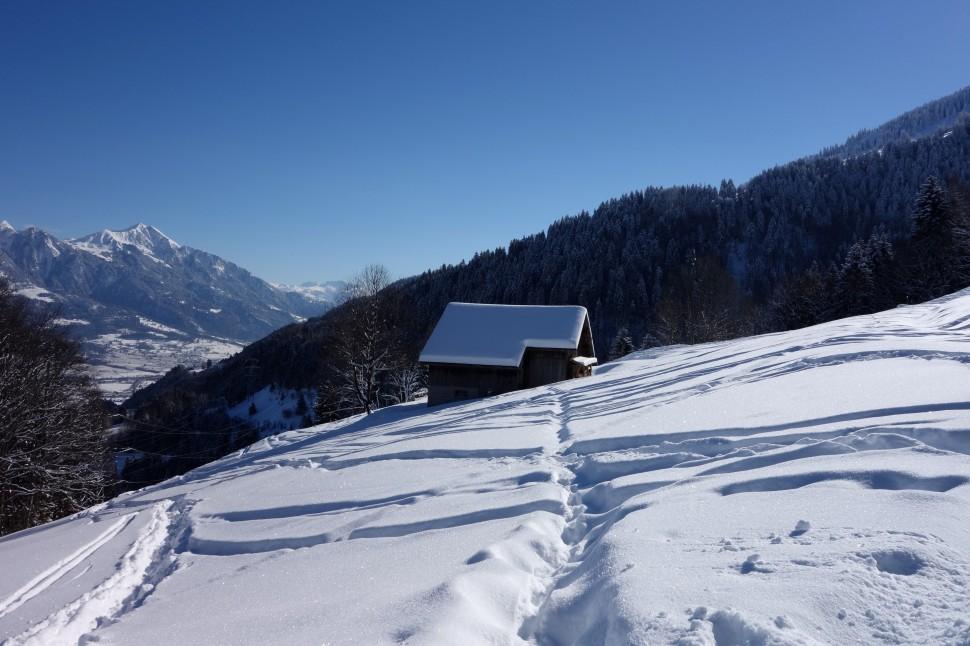 Pizol Winterlandschaft