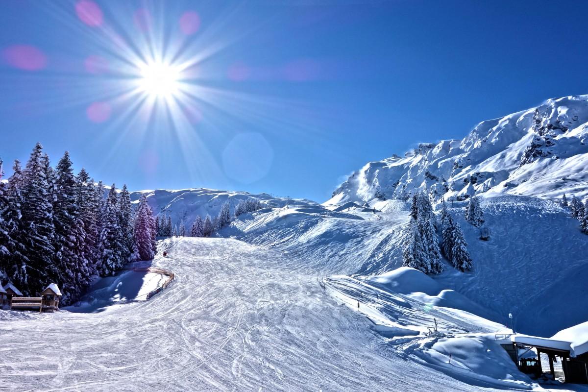 Sonne, Schnee und warmes Wasser – Best of Heidiland