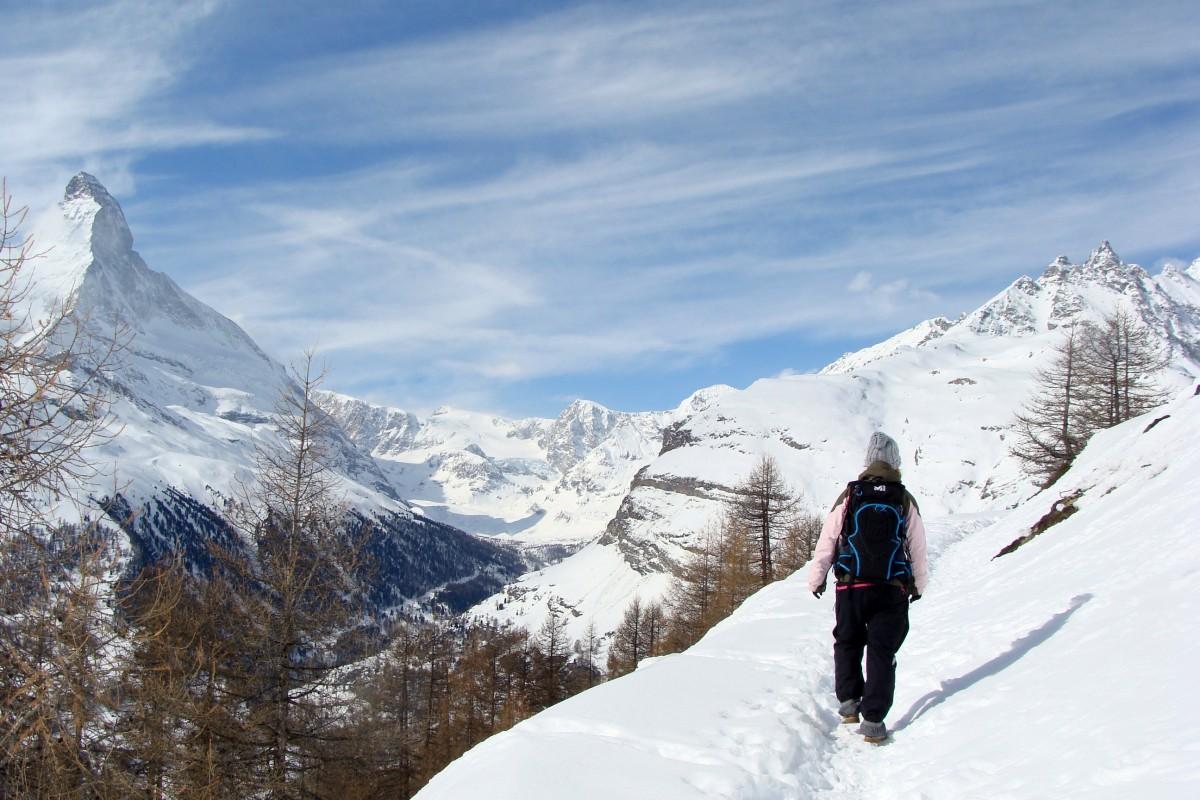 Zermatt – Winterwandern mit Aussicht