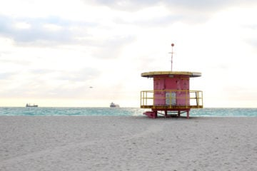 Ein Tag in Miami South Beach
