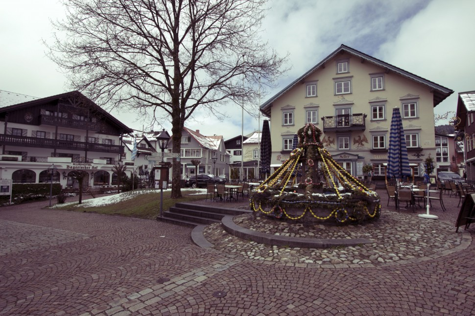 Dorfplatz Oberstaufen