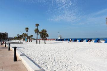 Clearwater Beach und was an Florida's Stränden fehlt