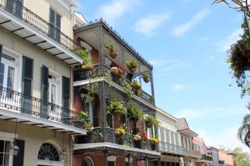 Architektour durch das French Quarter von New Orleans