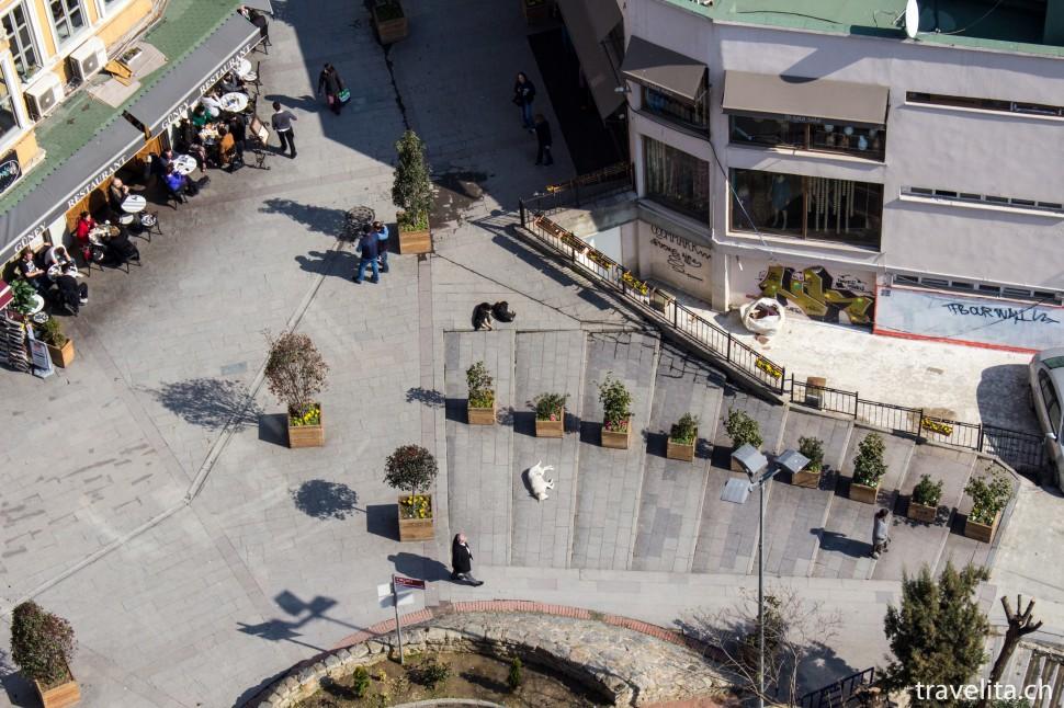 Sicht vom Galataturm in Beyoglu