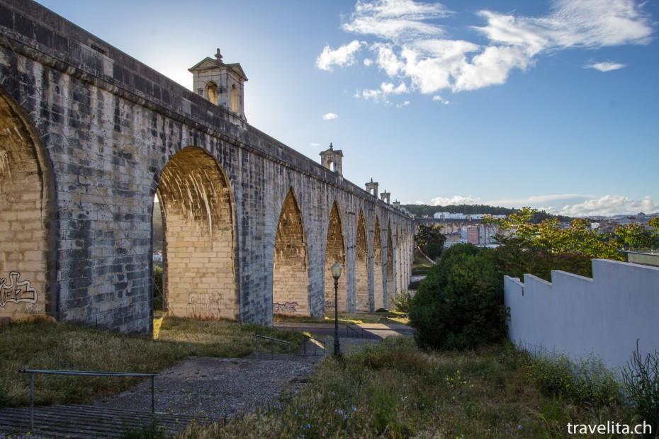 Aqueduto das Águas Livres in Lissabon