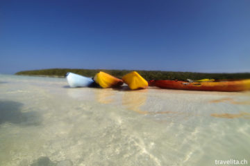 Ein Tag im beinah Inselparadies