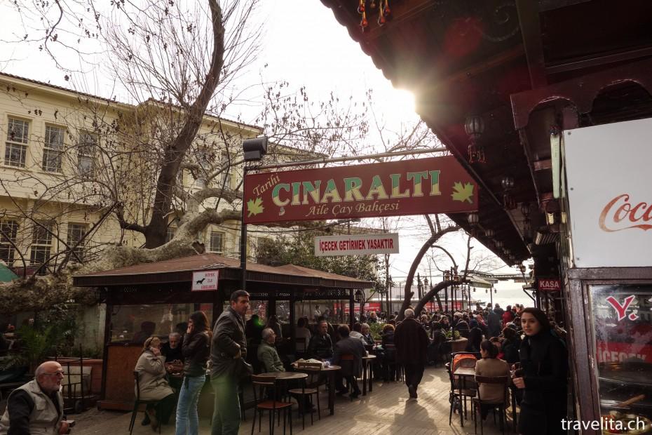 Cinaralti-Kaffee-Istanbul