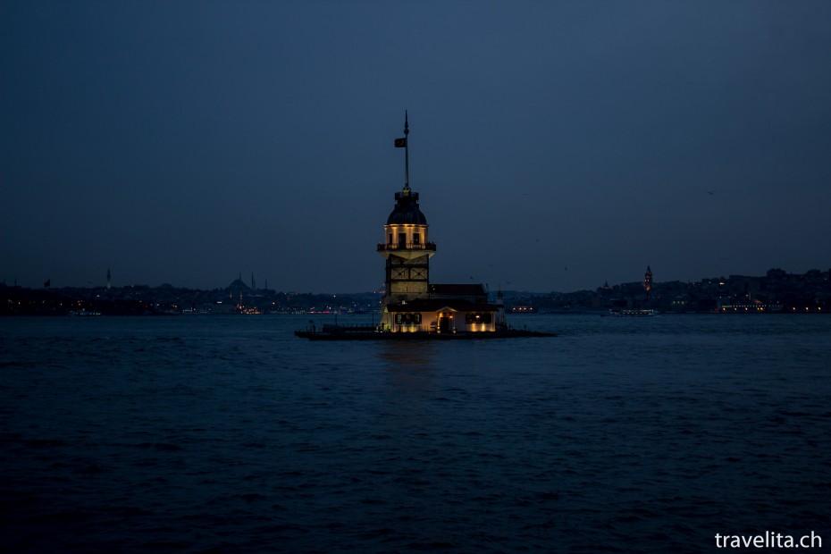 Leanderturm-Bosporus-Istanbul