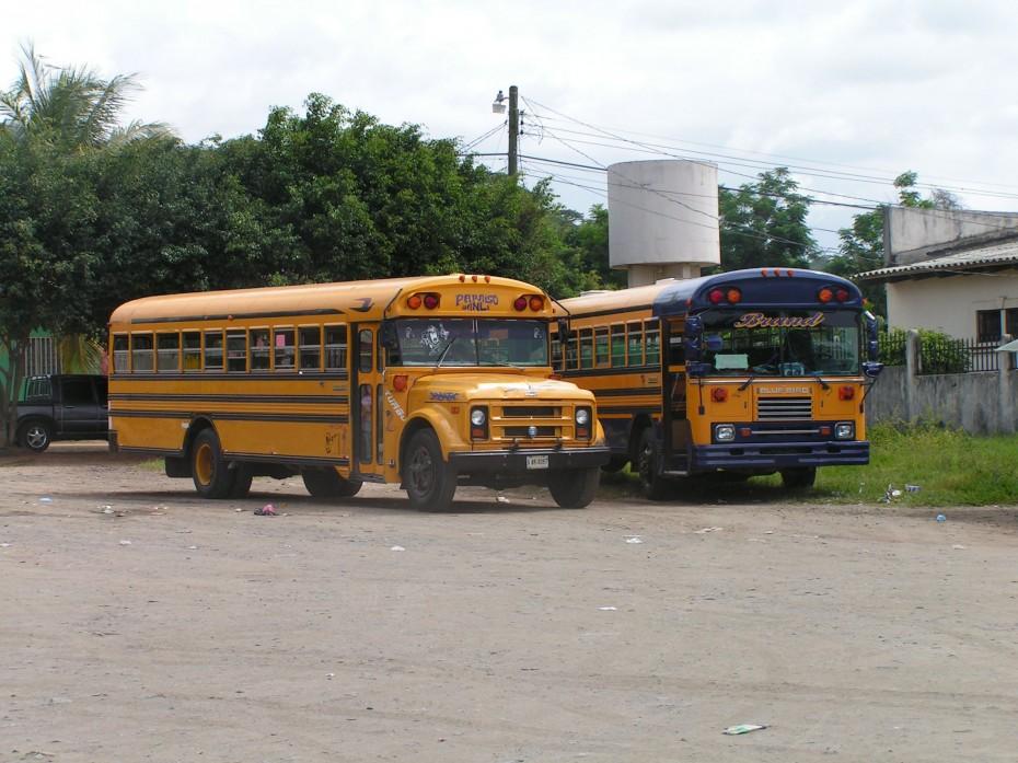 Busfahrt in Guatemala
