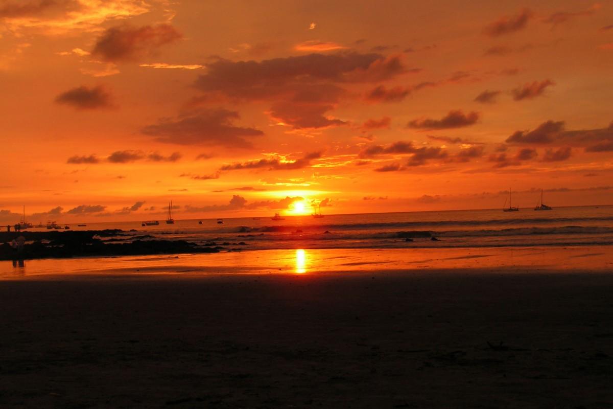 Reiseschnappschuss – Mein schönster Sonnenuntergang
