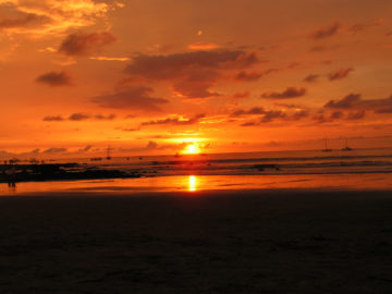 Reiseschnappschuss - Mein schönster Sonnenuntergang