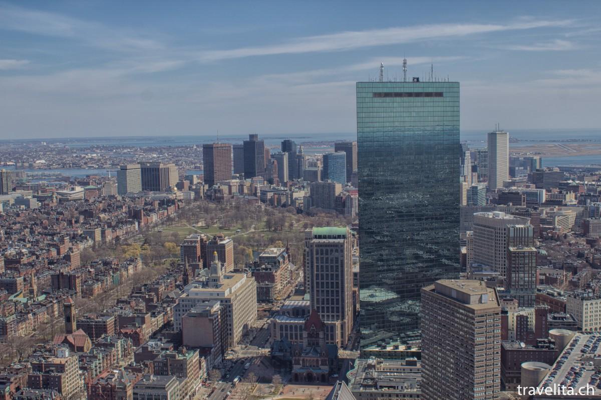 Travel Tuesday Snapshot – a 360° Boston view