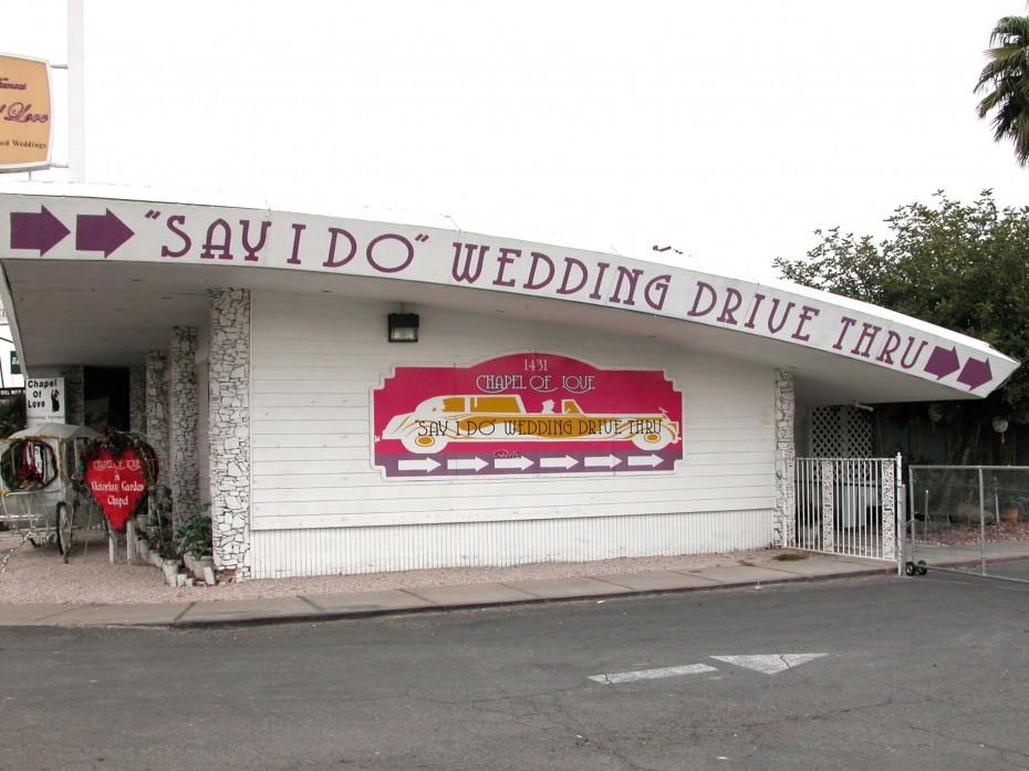 Drive-In-Hochzeiten