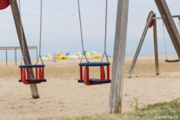 Reiseschnappschuss - Strandzeit