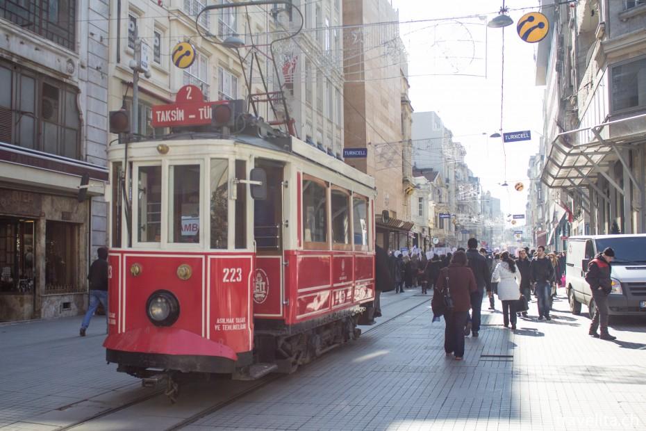 taksim-tram
