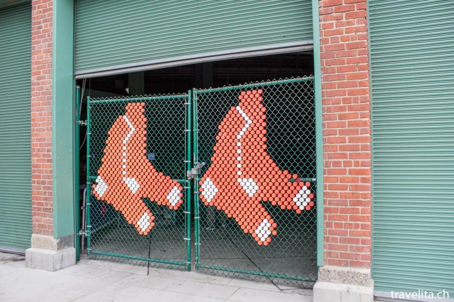 Boston Sehenswürdigkeit der Fennway Park