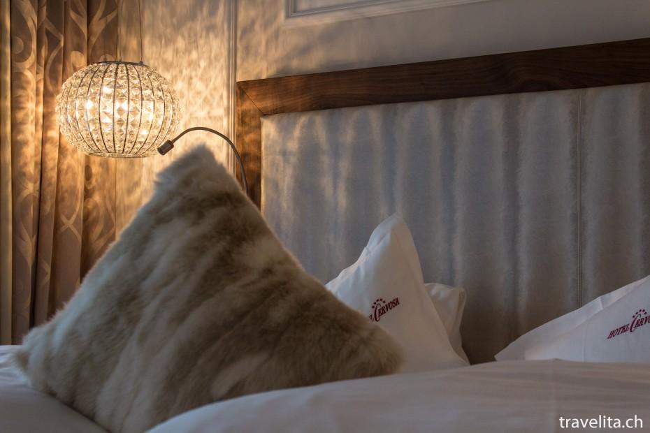 Bett Hotel Cervosa