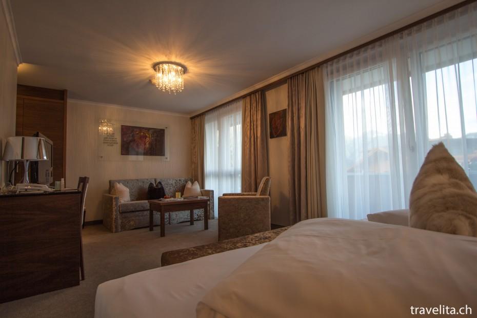 Junior Suite im Hotel Cervosa