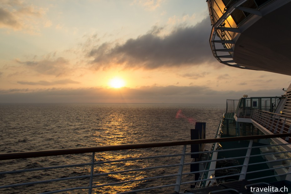 Sonnenaufgang in den Bahamas