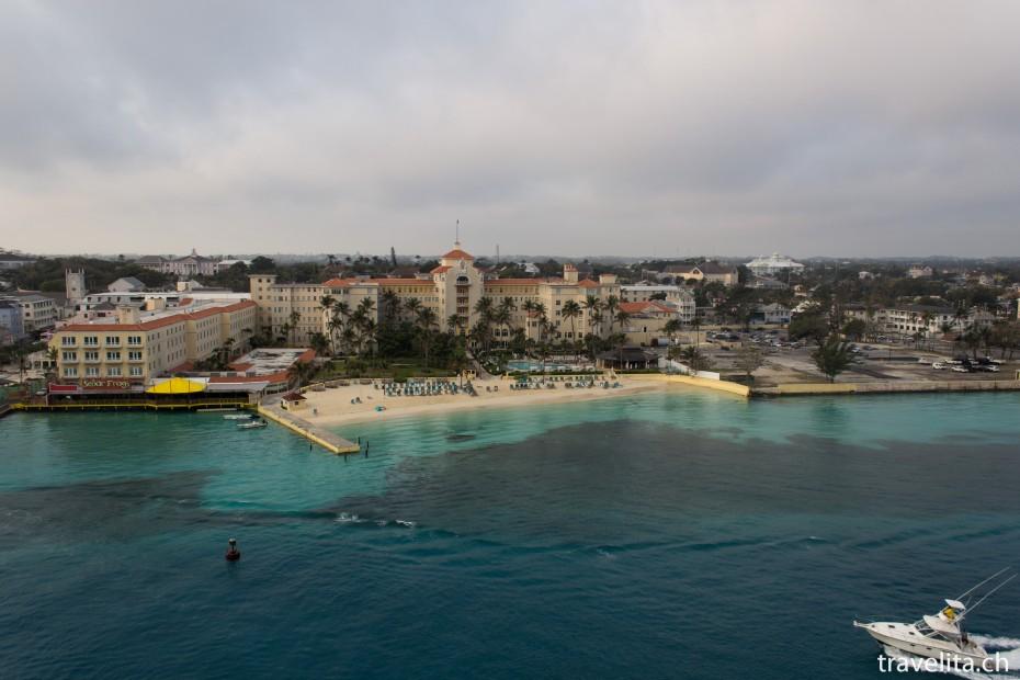 Strand im Hafen von Nassau