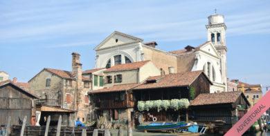 San Tovaso Werft Venedig