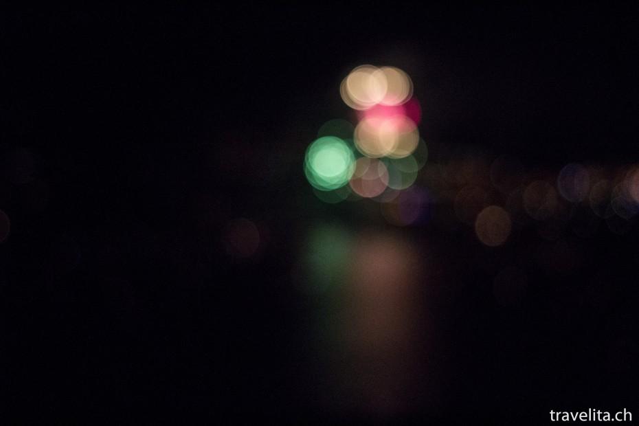 Feuerwerk Spiez - Grün - Rot