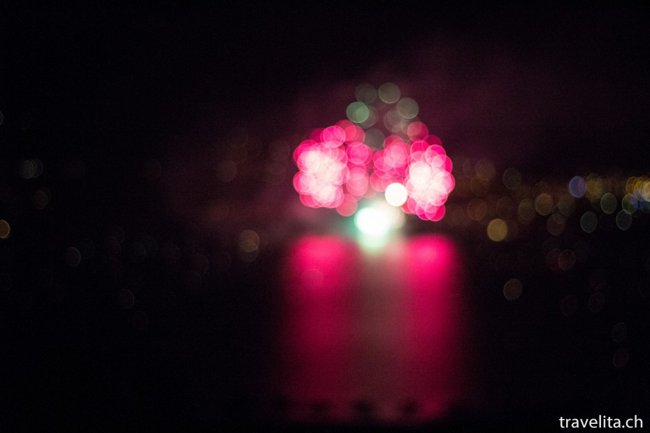 Feuerwerk Spiez - Unscharf