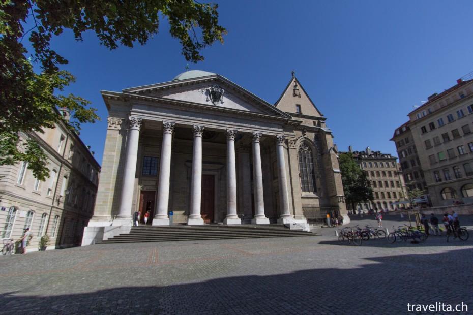 Genf_Kathedrale_Altstadt